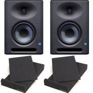 Presonus Eris E5 XT Monitor da Studio 70W (Coppia) + 2 Pad Isolanti