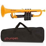 pTrumpet Tromba in Sib in Plastica Abs Giallo