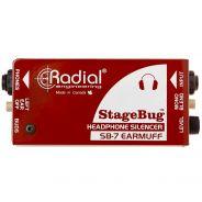 Radial Stagebug SB7 Silenziatore 2 Ch Passivo per Cuffie