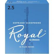 Rico RIB1025 - 10 Ance per Sax Soprano in Sib Royal Strength 2.5