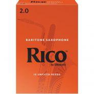 RICO RLA1020 CF. 10 ANCE PER SAX BARITONO IN MIB 2