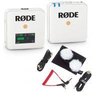 Rode Wireless Go Bianco Sistema Microfonico Wireless