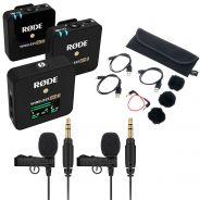 Rode Wireless GO II Bundle Doppio Microfono Wireless con 2 Lavalier GO