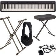 Roland FP 10 BK Pack Pianoforte Digitale / Supporto / Panchetta / Cuffie