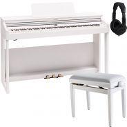 Roland RP701 Bianco Piano Digitale 88 Tasti con Panchetta e Cuffia