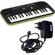 Casio SA46 Tastiera Elettronica 32 Tasti pianola Scolastica con Alimentatore