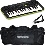 Casio SA46 Tastiera Elettronica 32 Tasti pianola Scolastica con Borsa