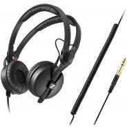 Sennheiser HD25 Plus Cuffia Chiusa Professionale per DJ Nera