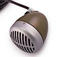 Shure 520DX Green Bullet - Microfono a Bocca per Armonica
