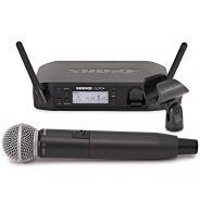 Shure GLXD24E/SM58 Sistema Microfonico Wireless Digitale con Palmare