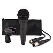 Shure PGA58 XLR E Microfono per Voce con Cavo XLR e Accessori