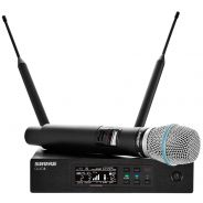 Shure QLXD24E/Beta 87A G51 - Radiomicrofono UHF con Trasmettitore Palmare
