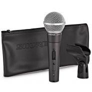 Shure SM58SE - Microfono Dinamico Cardioide per Canto con Interruttore