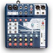 SOUNDCRAFT NOTEPAD 8FX - Mixer Analogico 8 Ch / Effetti