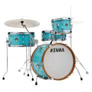 Tama LJK48S Aqua Blue - Kit Batteria Acustica Vintage B-Stock
