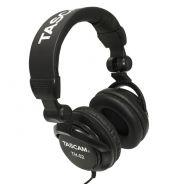 Tascam TH 02 - Cuffie DJ Professionali Stereo PC Smartphone Studio Monitor Filo
