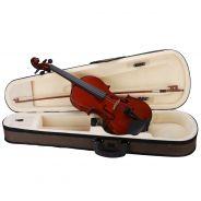 Violino 1/16 Set Completo: Astuccio, Archetto, Colofonia, tracolle e corde