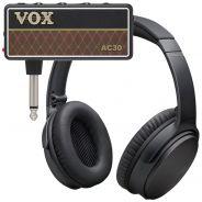 Vox Amplug 2 AC30 Mini Amplificatore a Jack per Chitarra con Cuffie