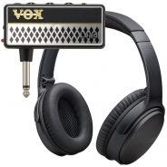 Vox Amplug 2 Lead Mini Amplificatore a Jack per Chitarra con Cuffie
