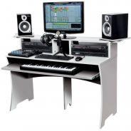 Glorious Workbench White - Console DJ Studio di Lavoro Compatta