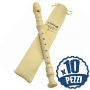 YAMAHA YRS23 - 10 Flauti Didattici Dolci Bundle Speciale Scuola