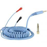 Zomo Spiral Cord Deluxe Cavo Spirale per Cuffie Sennheiser HD 25 3.5mt Celeste
