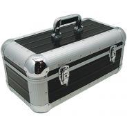 Zomo RS-250 XT Recordcase Flightcase Custodia per 250 Dischi 45 Giri Nero Dj