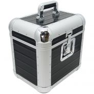 Zomo Recordcase RP-80 XT Flightcase Custodia per 80 Dischi LP Nero per Dj