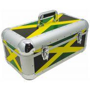 Zomo RS-250 XT Recordcase Flighcase per Cd e Vinili Jamaica Flag