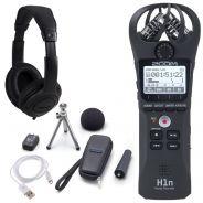 Zoom (H1n + APH-1n) Registratore Palmare Stereo Digitale, Kit Accessori e Cuffie