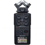 Zoom H6 Black Registratore Digitale Palmare Multitraccia Nero