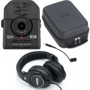 Zoom Q2n 4K Bundle Registratore Audio Video con Custodia e Cuffie Shure SRH840
