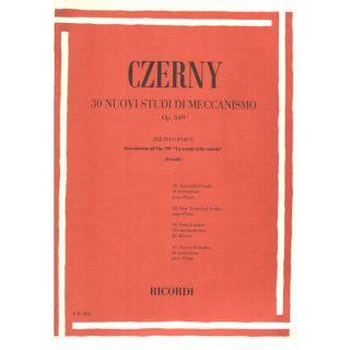 0-RICORDI Czerny, Carl - 30