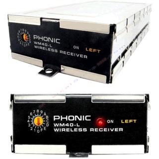 0-PHONIC WM40 L - RICEVITOR