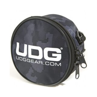 0-UDG HEADPHONE BAG CAMO GR