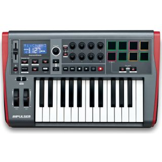 NOVATION IMPULSE 25 Tastiera Controller Midi/USB 25 Tasti_front