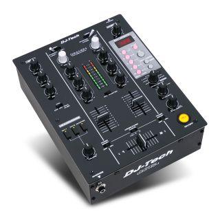 0-DJ TECH DJM-404 - Mixer p