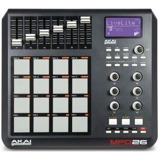 0-AKAI MPD26 - MIDI PAD CON