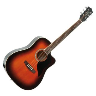 0-EKO KW Brown Sunburst - C