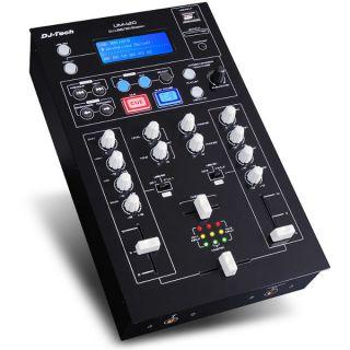 0-DJ TECH UM120 - MIXER PER