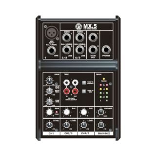 0-Topp Pro MX5 Mixer passiv