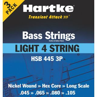 0-HARTKE LIGHT 4 /3 PACK -