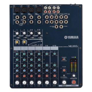 0-YAMAHA MG102C - Mixer Pas