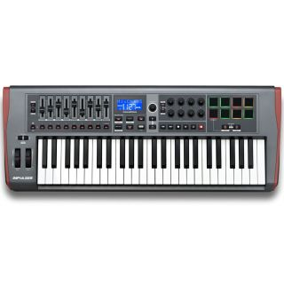 NOVATION IMPULSE 49 Tastiera Controller Midi/USB 49 Tasti_front
