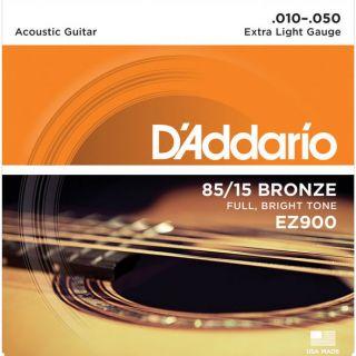 0-D'ADDARIO EZ900 85/15 - M