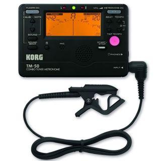 0-KORG TM50C-BK - AMPLIFICA