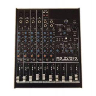 0-Topp Pro MIX22-2 FX Mixer