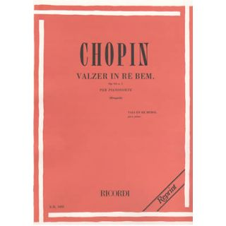 0-RICORDI Chopin - VALZER I