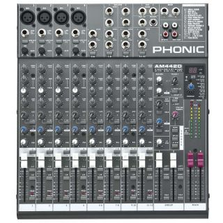 0-PHONIC AM442D - MIXER PAS
