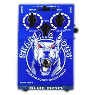 0-SNARLING DOGS SDP04 BLUE